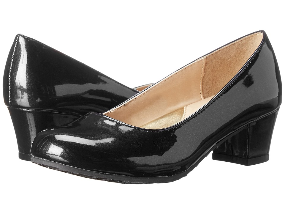 Ivanka Trump Kids - Carra Pump (Little Kid/Big Kid) (Black 1) Girls Shoes