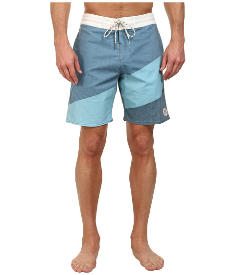 Billabong - Slice Lo Tides 19 Boardshort (Haze) Men's Swimwear