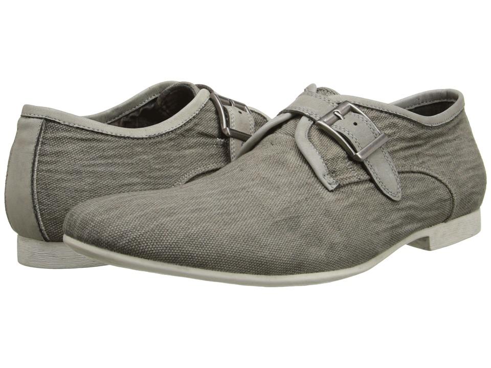 Image of Bed Stu - Artie (Grey Garment Dye Canvas) Men's Slip on Shoes