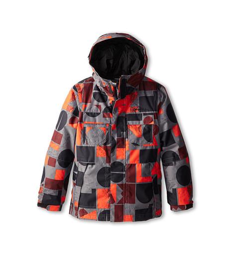 O'Neill Kids - Hubble Jacket (Little Kids/Big Kids) (Red Allover Print) Boy's Coat