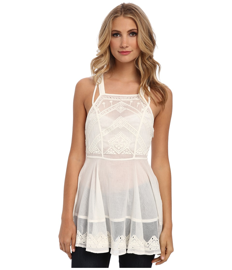 Free People - Marrekesh Top (Ivory) Women's Sleeveless