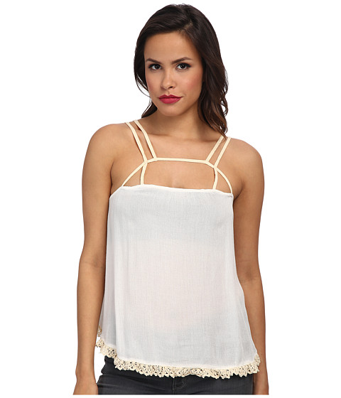 Free People - Summer Straps Cami (Ivory Combo) Women
