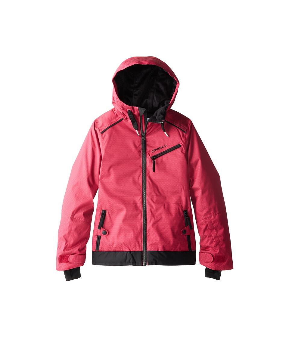 O'Neill Kids - Furry Jacket (Little Kids/Big Kids) (Framboise Pink) Girl's Coat