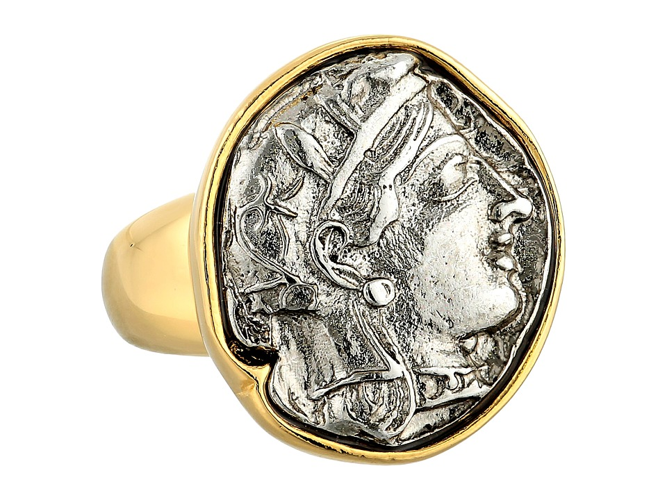 Kenneth Jay Lane - 5493RAS Ring (Gold/Silver) Ring