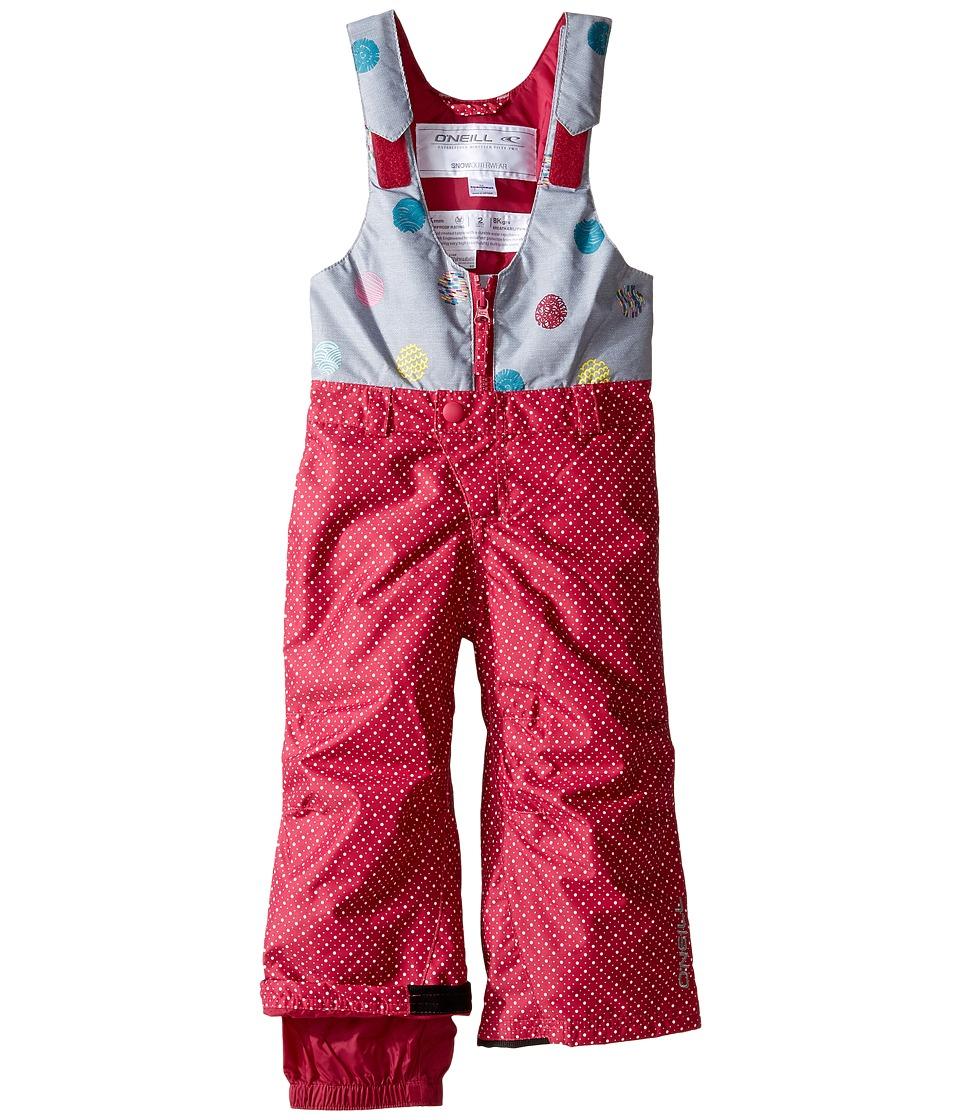 O'Neill Kids - Park Bib Pant (Toddler/Little Kids) (Framboise Pink) Girl's Casual Pants