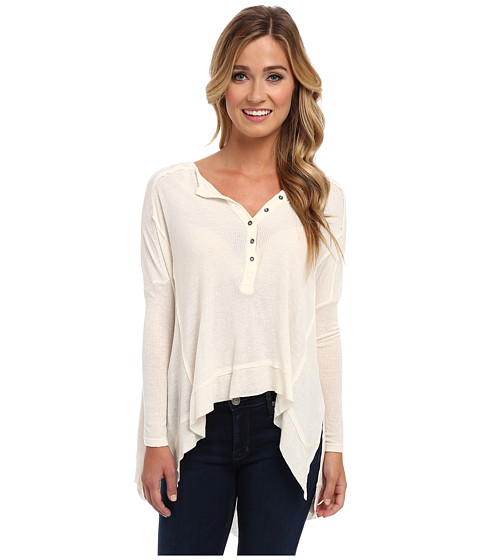 Free People - Benedict Henley (Cream) Women's Clothing