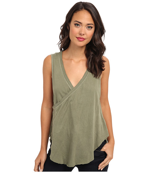 Free People - Nocturnal Tank (Army) Women's Sleeveless