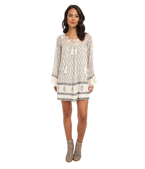 Free People - Nomad Child Dress (Ivory Combo) Women's Dress