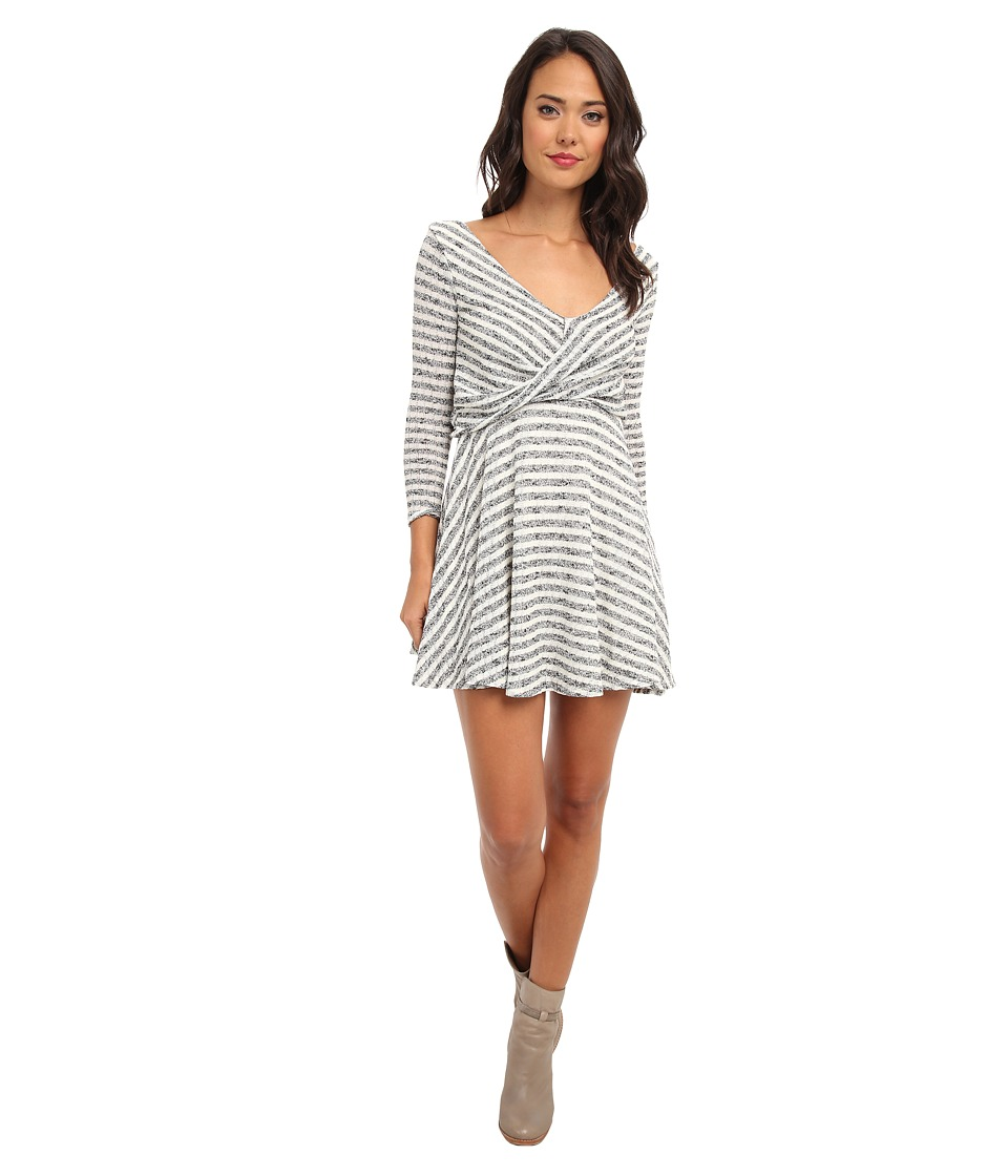 Free People - Maverick Dress (Cream Combo) Women's Dress