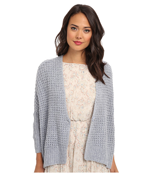 Free People - Breeze Cardi Sweater (Rain Blue) Women's Sweater