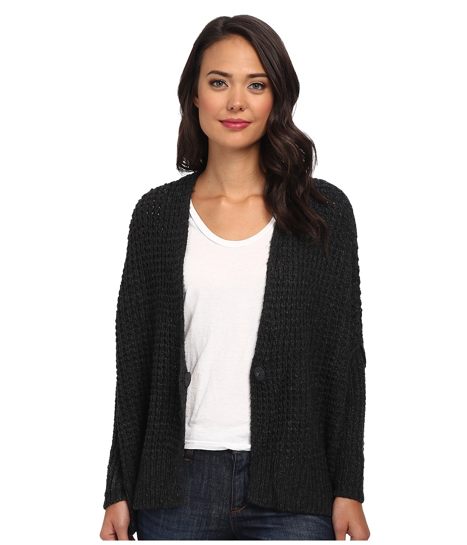 Free People - Breeze Cardi Sweater (Charcoal) Women's Sweater