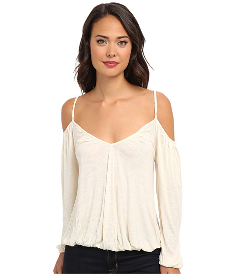 Free People - Adelia Boho Blouse (Ivory) Women's Blouse