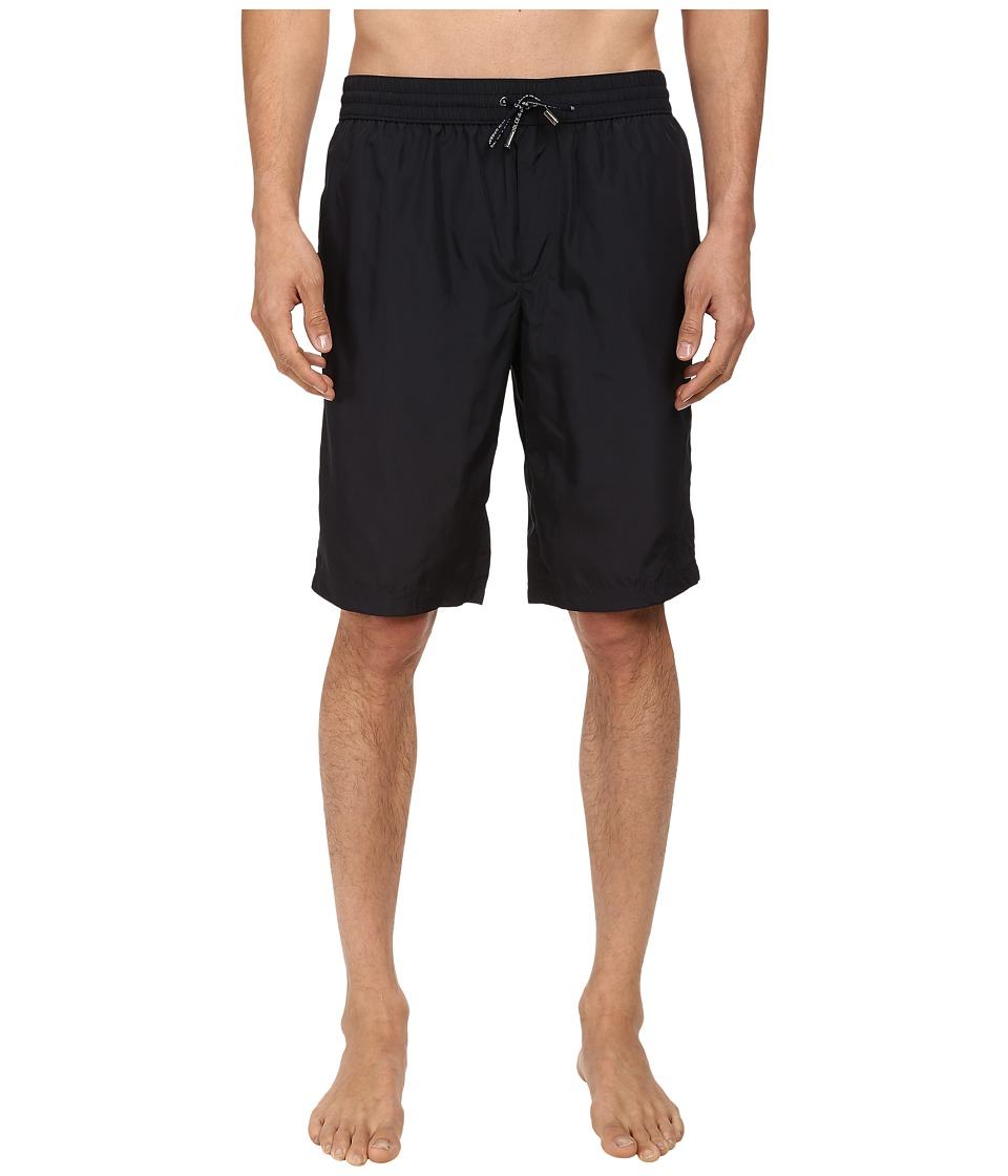 Dolce & Gabbana - Long Length Swim Trunk (Navy Blue) Men's Swimwear