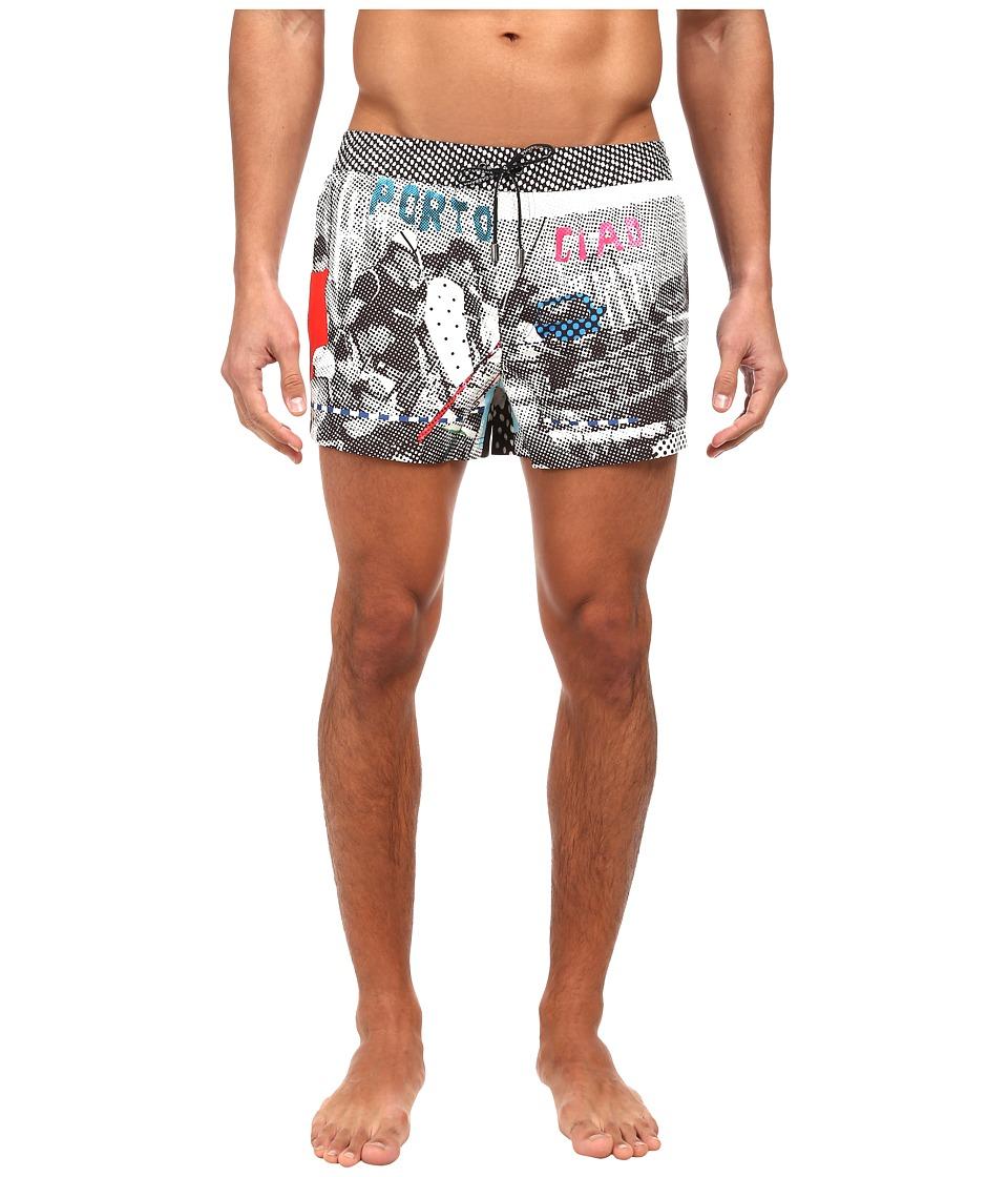 Dolce & Gabbana - Printed Swim Trunk (Multi) Men