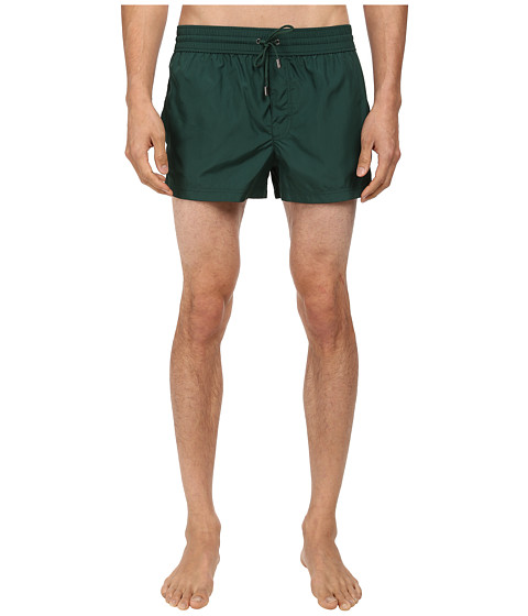 Dolce & Gabbana - Solid Short Swim Trunk (Medium Green) Men's Swimwear
