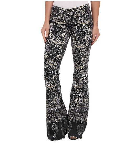 Free People - Indian Border Flare in Night Combo (Night Combo) Women's Jeans