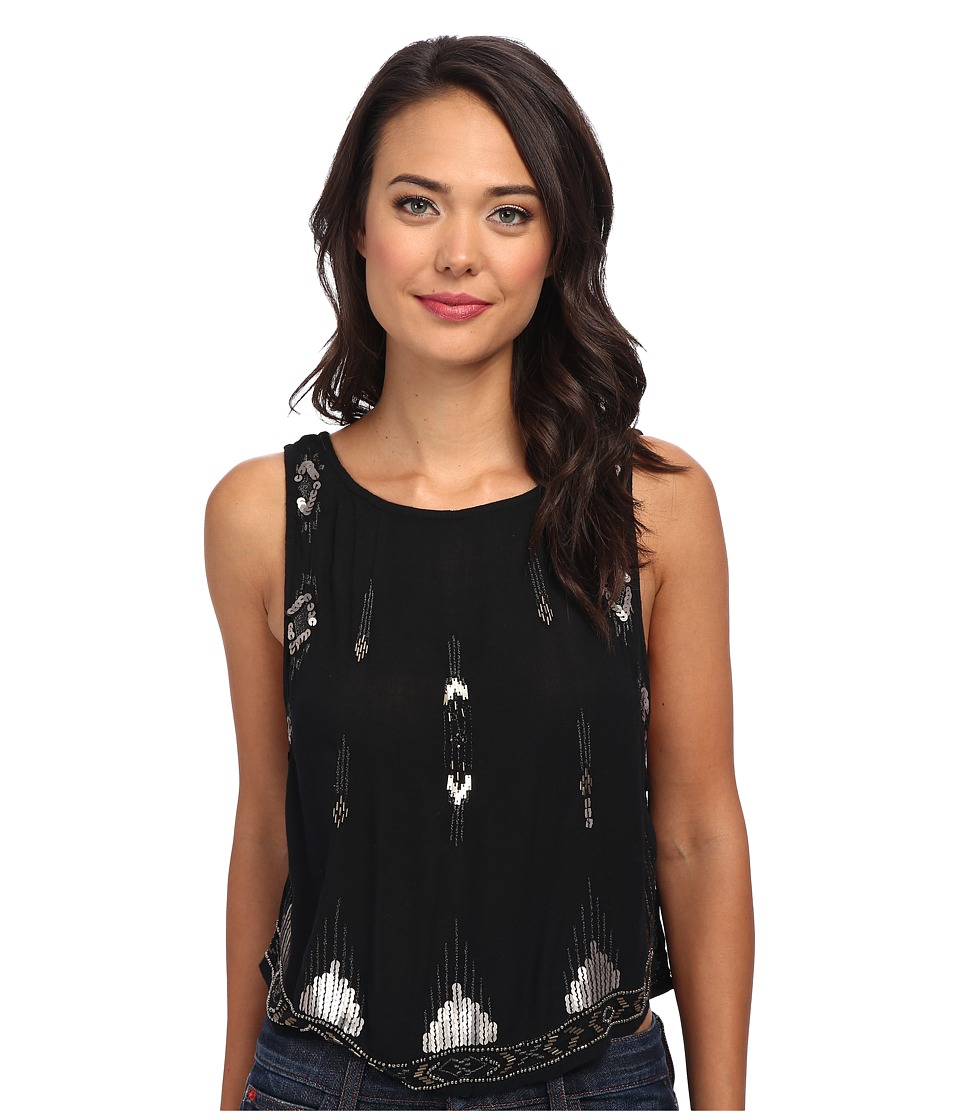 Free People - Bad Girls Tank (Black) Women