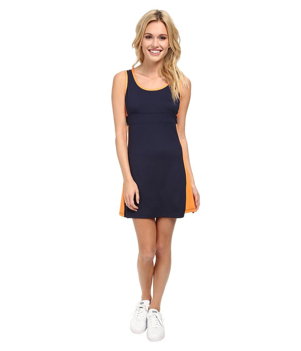 Tail Activewear - Viv Dress (Navy Blue/Sherbet) Women's Dress