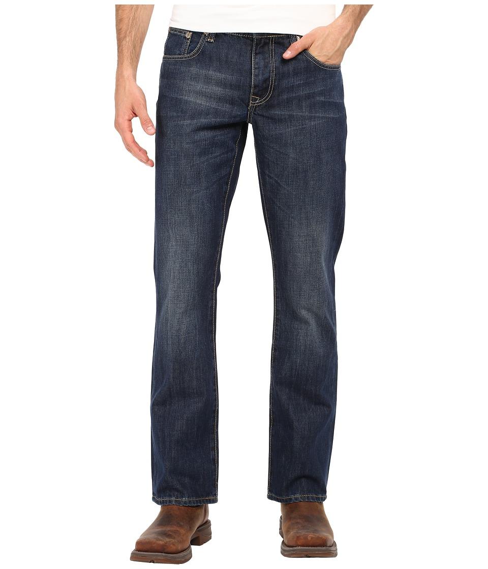 Stetson - Rocker Fit Railroad Ties (Blue) Men's Jeans