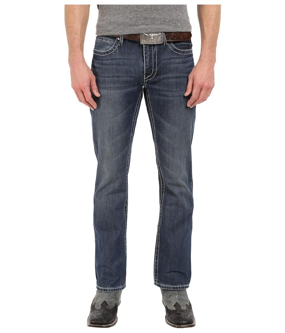 Stetson - Rocker Fit W Back (Blue) Men's Clothing