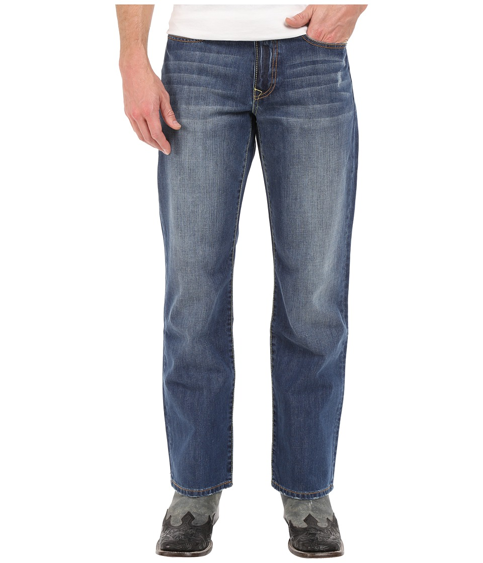 Stetson - Modern Fit Light Stone X (Blue) Men's Clothing
