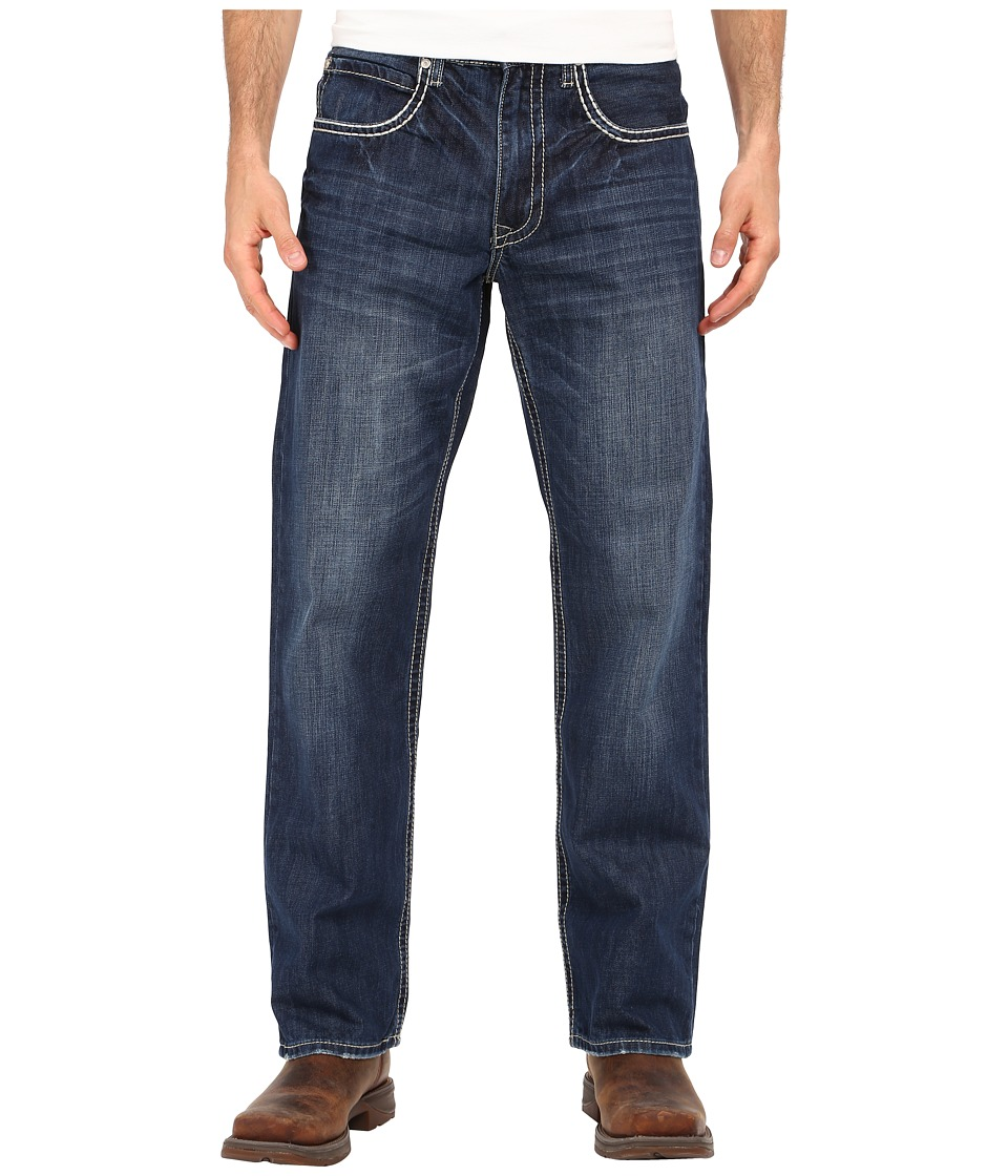 Stetson - 1312 Modern Bootcut Jean (Blue) Men's Clothing
