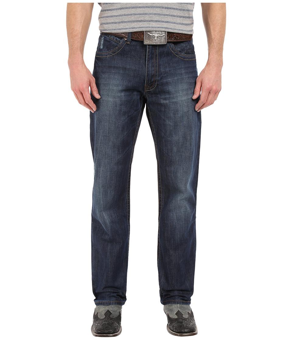 Stetson - Modern Fit V Back (Blue) Men's Clothing