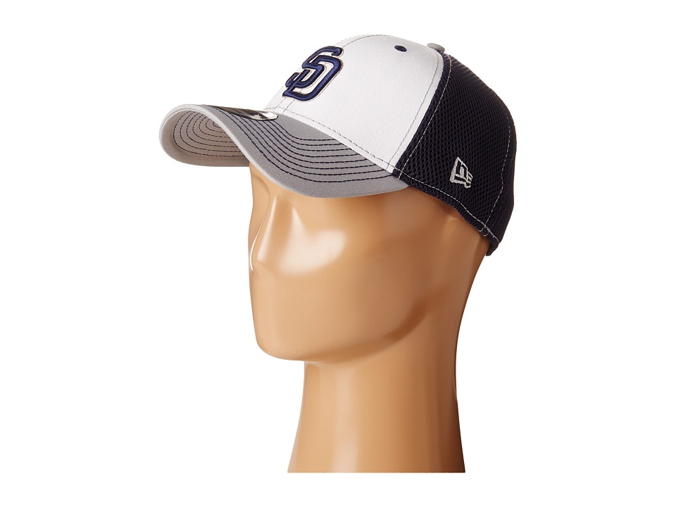 New Era - White Front Neo San Diego Padres (Navy) Caps