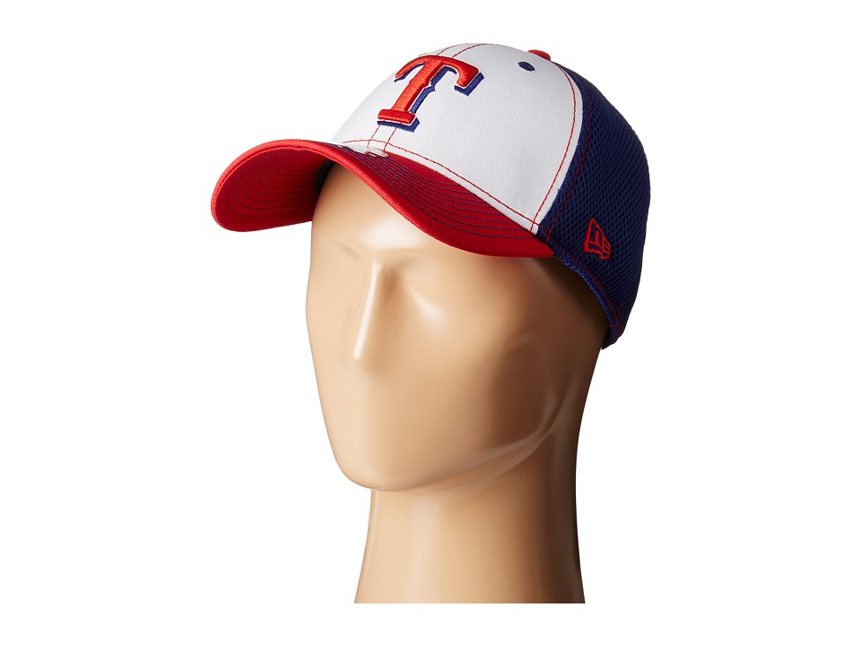 New Era - White Front Neo Texas Rangers (Bright Blue) Caps
