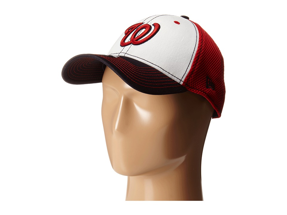 New Era - White Front Neo Washington Nationals (Red) Caps