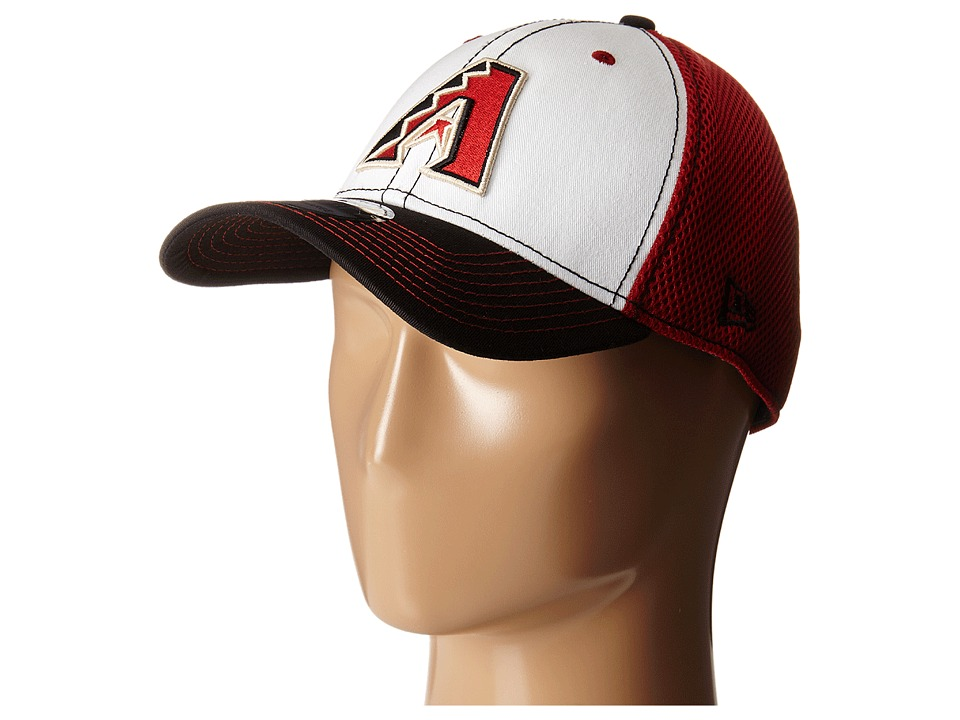 New Era - White Front Neo Arizona Diamondbacks (Dark Red) Caps