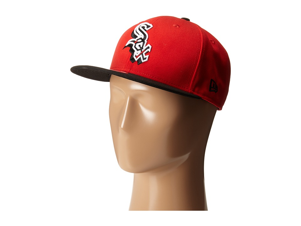 New Era - The Rotator Chicago White Sox (Red) Baseball Caps
