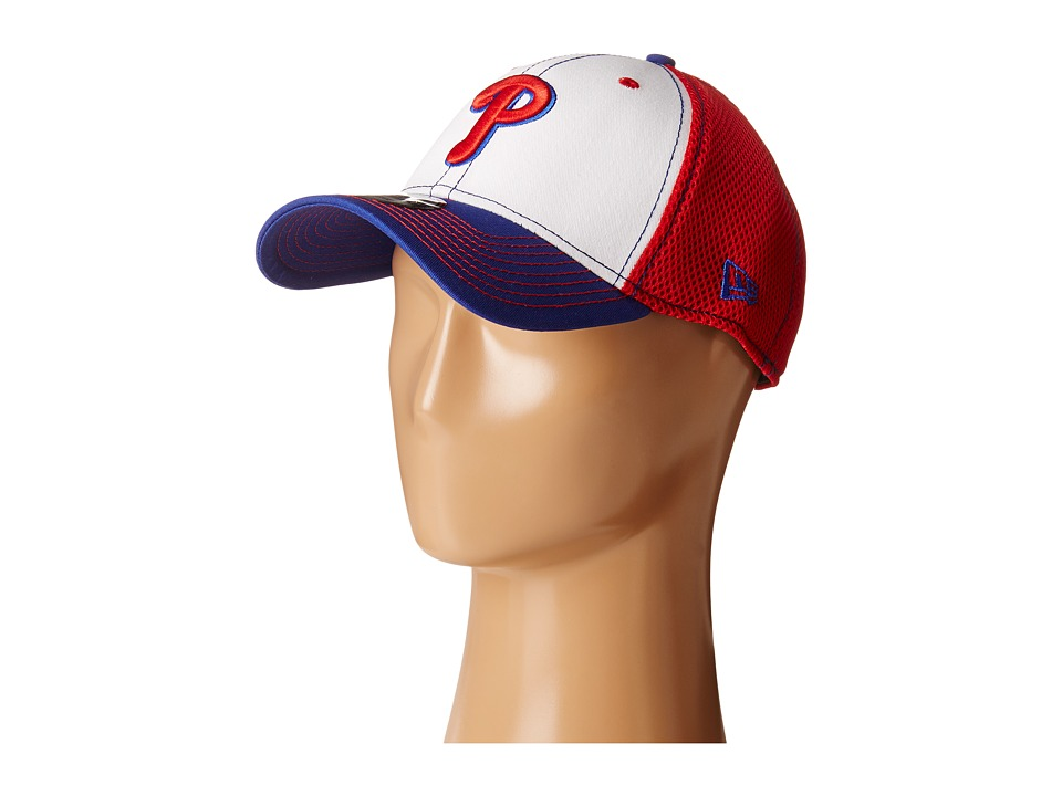 New Era - White Front Neo Philadelphia Phillies (Red) Caps