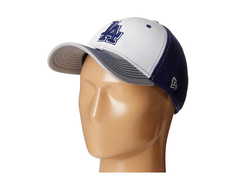 New Era - White Front Neo Los Angeles Dodgers (Medium Blue) Baseball Caps
