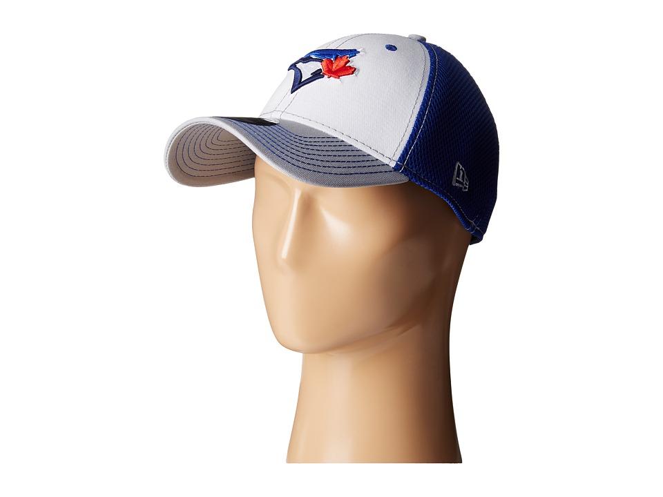New Era - White Front Neo Toronto Blue Jays (Bright Blue) Baseball Caps