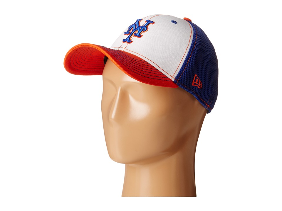 New Era - White Front Neo New York Mets (Bright Blue) Baseball Caps