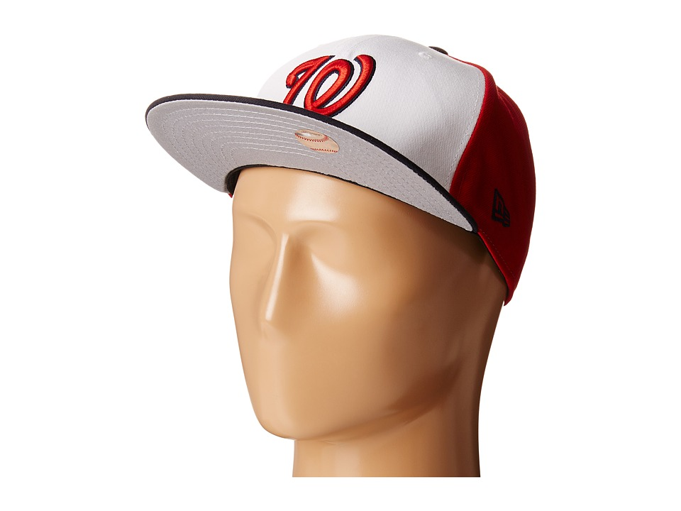 New Era - The Rotator Washington Nationals (Red) Caps