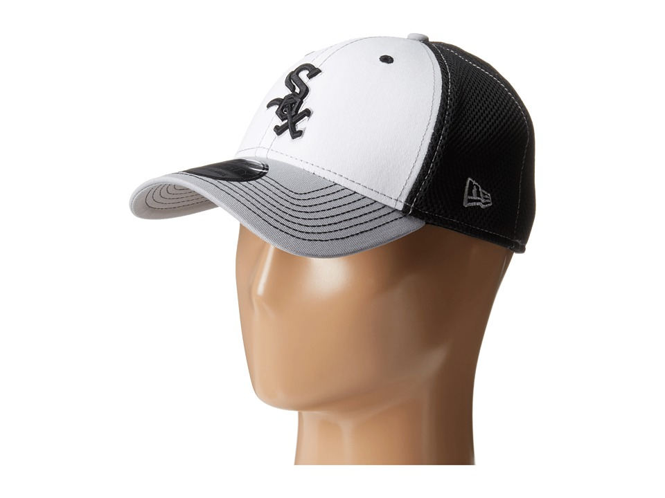 New Era - White Front Neo Chicago White Sox (Black) Baseball Caps