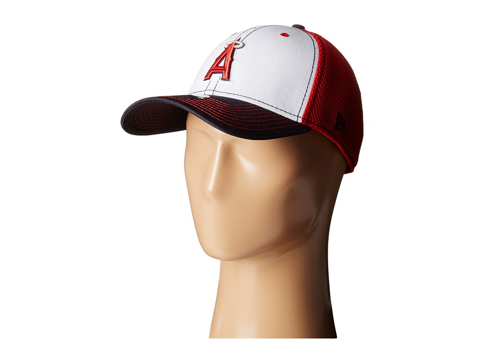 New Era - White Front Neo Anaheim Angels (Red) Baseball Caps
