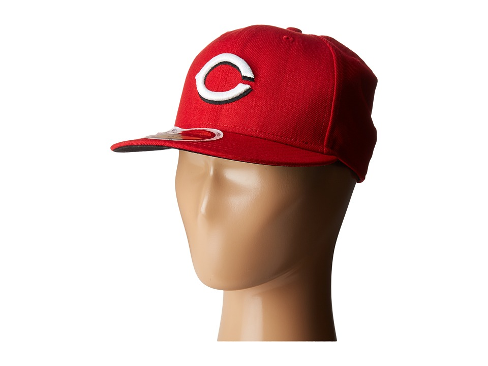 New Era - Authentic Cincinnati Reds Home Youth (Red) Caps