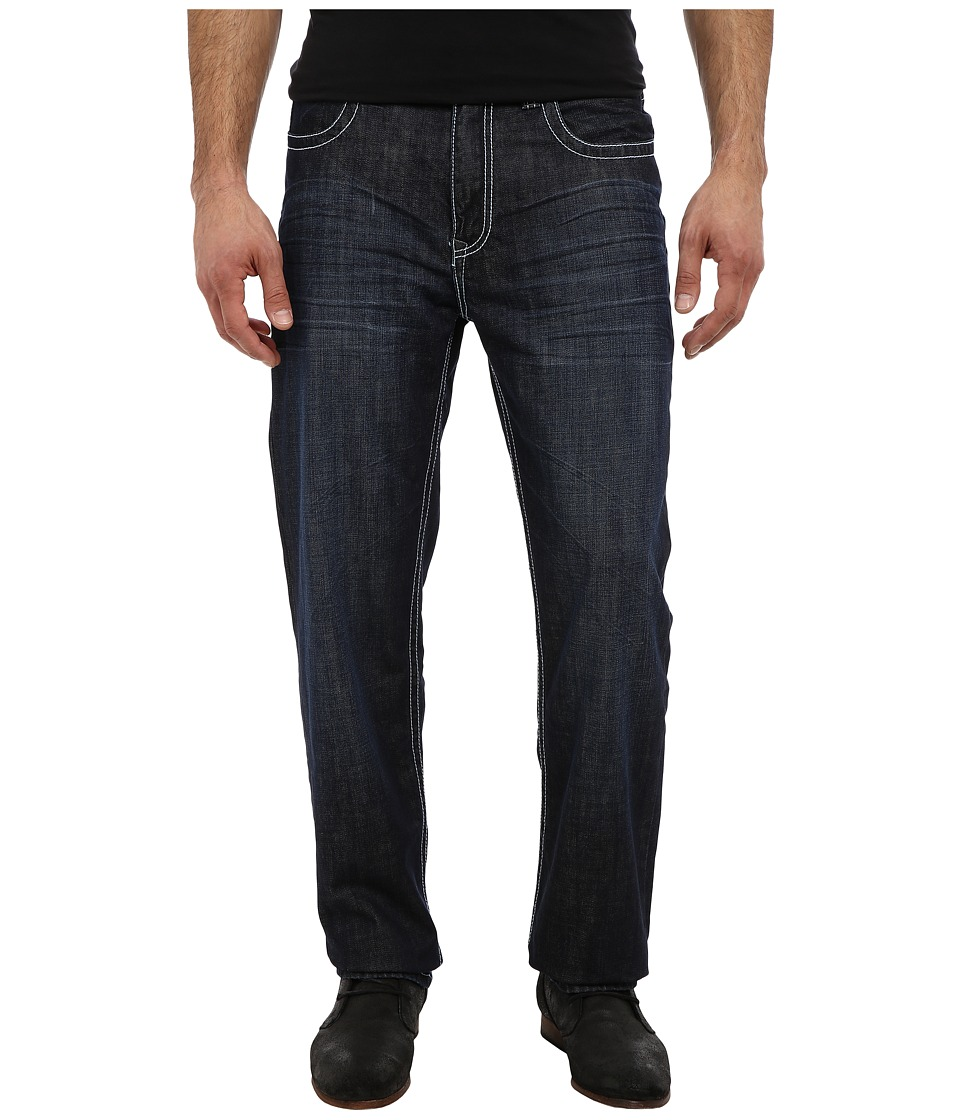 Stetson - 1520 Fit Raised X (Blue) Men's Jeans