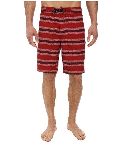Tavik - Crowley Boardshort (Red Curb) Men's Swimwear
