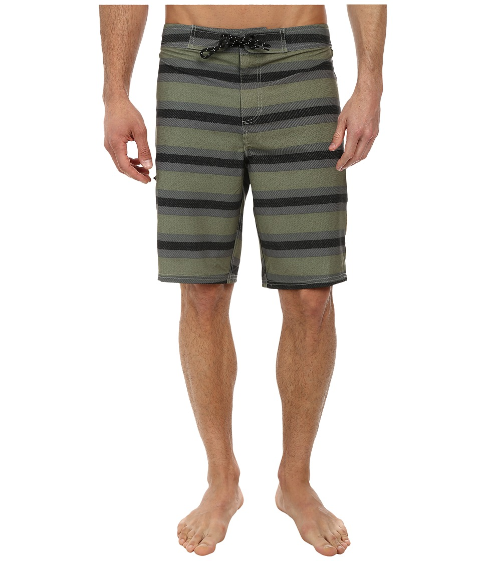 Tavik - Crowley Boardshort (Sage) Men's Swimwear