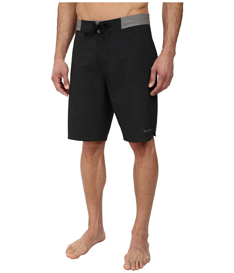 Tavik - Vital Boardshort (Jet Black) Men's Swimwear