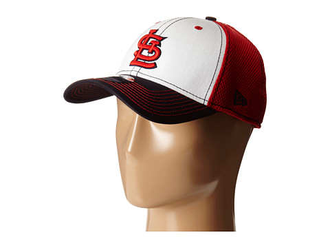 New Era - White Front Neo St. Louis Cardinals (Red) Caps