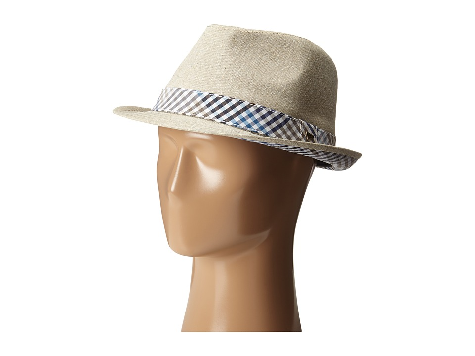 New Era - EK Bensen Fedora (Light Beige) Fedora Hats