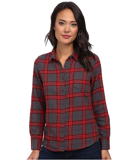 J.A.C.H.S. - Long Sleeve Woven Shirt (Grey) Women's Long Sleeve Button Up