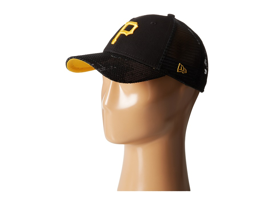 New Era - Sequin Vize Pittsburgh Pirates Team (Black) Caps