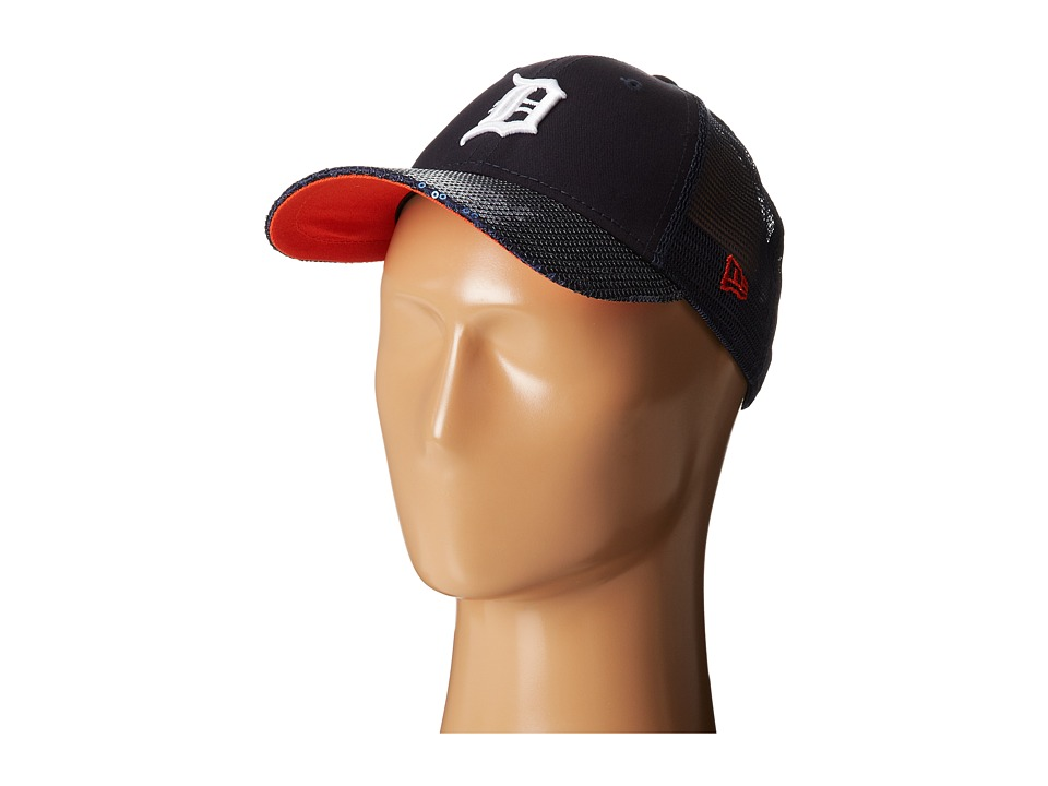 New Era - Sequin Vize Detroit Tigers Team (Navy) Caps