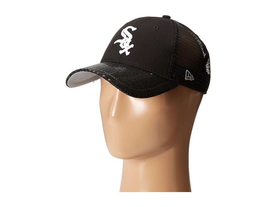New Era - Sequin Vize Chicago White Sox Team (Black) Caps